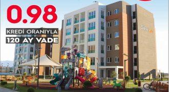 SİLİVRİ/SARALLİFE EVLERİ/0.98 FAİZ İLE KREDİ+24 AY VADE FAİZ YOK